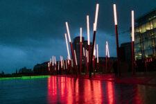 Light forest by Martha Schwartz