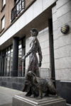Constance Markievicz and Poppet by Elizabeth McLaughlin