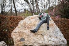 Oscar Wilde Monument by Danny Osborne