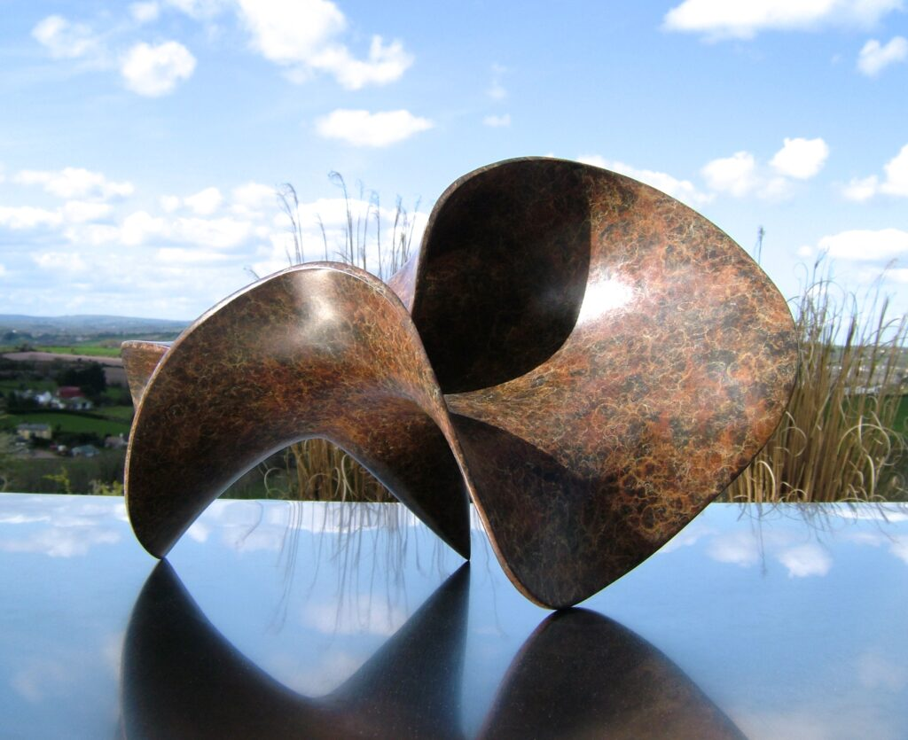 Eilis O'Connell RHA, Cone T, bronze, 40 x 24 x 19cm.JPG