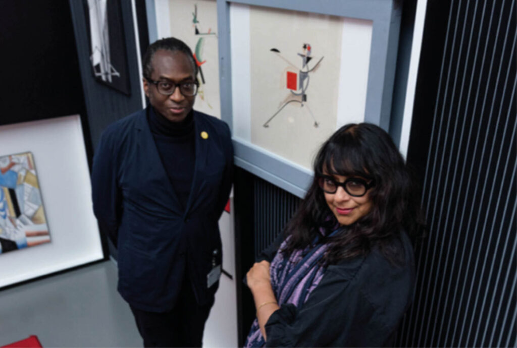 The Otolith Group - Kodwo Eshun and Anjalika Sagar. Courtesy the artists.